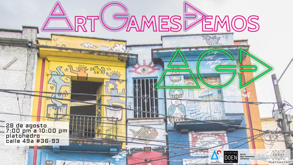 Edición especial de Art Games Demos en Medellín