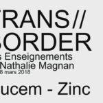TRANS//BORDER, Les Enseignements de Nathalie Magnan La ronde des tables
