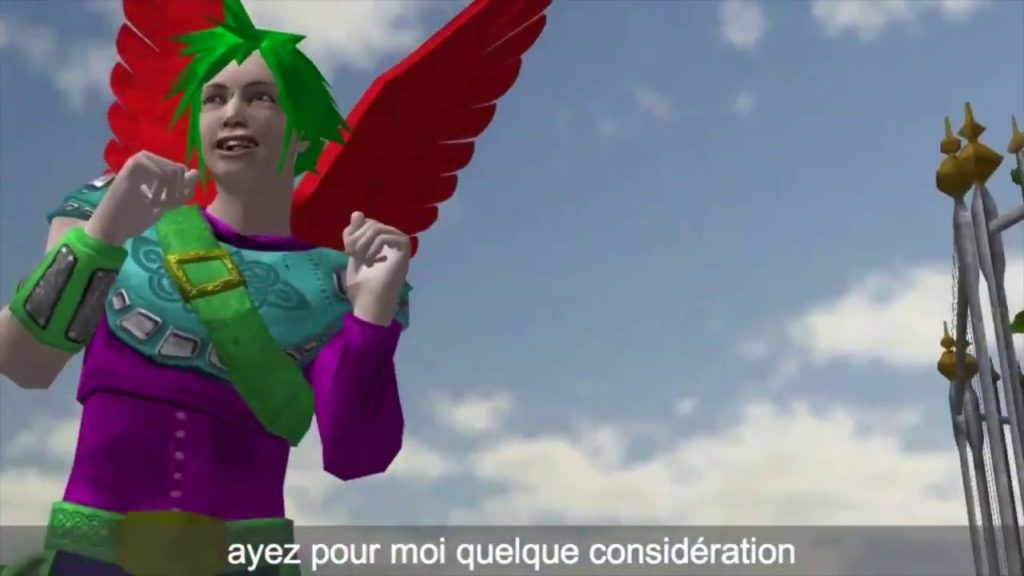 Enseignamen papagai, machinima en provençal