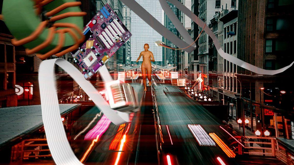 Co production of UKI a scifi viral alt-reality cinema by Shu Lea Cheang 2021, 2022